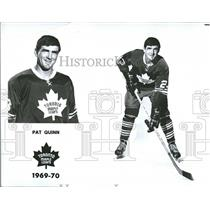1974 Press Photo Pat Quinn Head Coach NHL Los Angeles - RRQ58435
