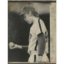 1974 Press Photo Dick Ruthven Philadelphia Phillies - RRQ72811