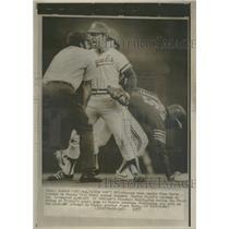 1975 Press Photo Russ Goetz, Cookie Rajas - RRQ12073