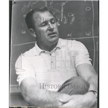 1975 Press Photo Jack Christiansen Coach 49ers - RRQ39841