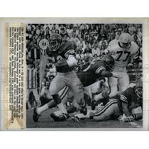 1975 Press Photo Rickey Bell American Football Player - RRQ45561