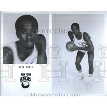 1979 Press Photo Greg Bunch New York Knicks Basketball - RRQ35227