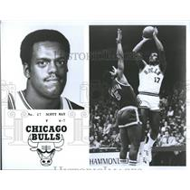 1979 Press Photo Chicago Bulls Scott May Basketball - RRQ55847