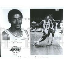 1979 Press Photo Norm Nixon, Los Angeles Lakers - RRQ55887