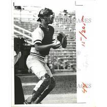1979 Press Photo Toronto Blue Jay Catcher Geno Petralli - RRQ72905