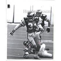 1981 Press Photo Former Football Player, Wilbert Montgo - RRQ68235