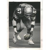 1983 Press Photo Seahawk Linebacker Shelton Robinson - RRQ67377