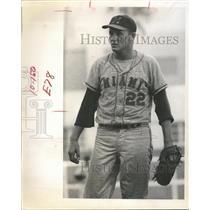 1967 Press Photo Minor League Baseball Player For Miami Marlins - RRQ73023