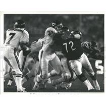 1989 Press Photo William Perry NFL Chicago Bears Player - RRQ65733