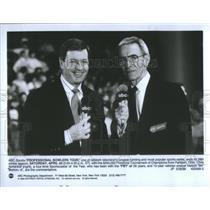 1989 Press Photo Sportscaster Chris Schenkel - RRQ66891