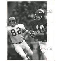 1990 Press Photo Mike Livingston,Kansas City Chiefs - RRQ63833