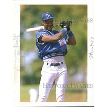 1995 Press Photo Baseball Daryl Strawberry - RRQ29951