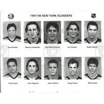 1997 Press Photo New York Islanders Football Team NHL - RRQ53831