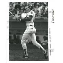 Press Photo David Arthur Kingman New York Mets - RRQ10741