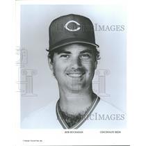 Press Photo Bob Buchanan Cincinnati Reds - RRQ40559