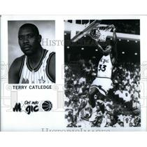 Press Photo Terry DeWayne Catledge Orlando Magic - RRQ45229