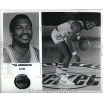 Press Photo Houston Rockets Tom Henderson - RRQ45231