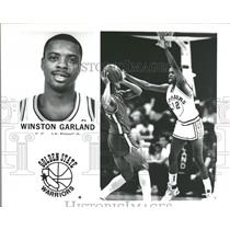 Press Photo Winston Garland NBA Golden State Warriors - RRQ52035