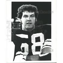 Press Photo Wally Hilgenberg Minnesota Vikings Football - RRQ62077