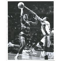 Press Photo Winston Garland Golden State Warriors - RRQ62337