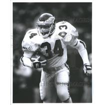 Press Photo Herschel Walker Football Player Phil Eagles - RRQ67451