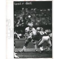 Press photo Larry Craig Morton Flint Dallas Cowboys MI - RRQ67723