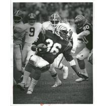 Press Photo Cincinnati Bengals RB Stanford Jennings - RRQ72379