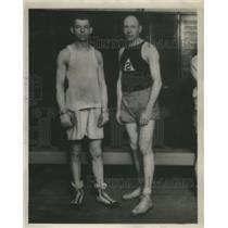 1928 Press Photo Ros Soranger and Stan Riddle - RRQ68145