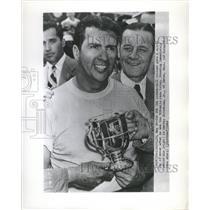 1949 Press Photo Boat Racer Bill Holland - RRQ57747
