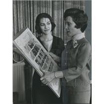 1967 Press Photo Mrs. L. R. Ward Junior, Other, Birmingham Symphony ticket drive