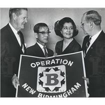 1964 Press Photo Virginia McDavid Goodson and Others, Birmingham, Alabama