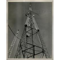 1958 Press Photo Thomas Korn Civil Defense Control 125 - RRX66149