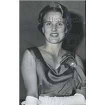 1963 Press Photo Birmingham Music Club concert-goer, Mrs. Lowell S. Hamilton