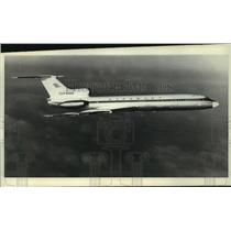 1968 Press Photo New Soviet passenger jet TU-154 expected to fly to 3500 cities
