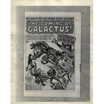 1966 Press Photo Comic Book Spiderman - RRX64623