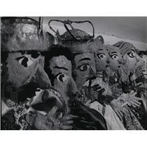 1965 Press Photo puppet population 200 Fleck basement - RRW06249