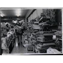 1969 Press Photo Catholic Charities Toy Shower - RRX51867