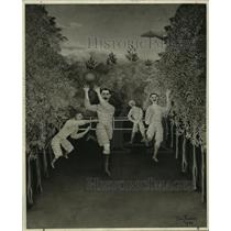 "1942 Press Photo Henri Rosseau's ""A Game of Football"" - ney31445"