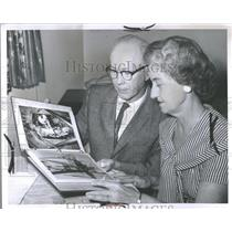 1962 Press Photo Mr. Mrs. James Mc Divitt Sr. Michigan