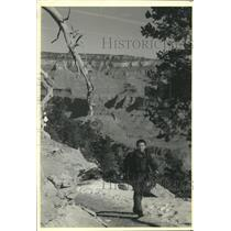 1991 Press Photo Jerry Chavez, a member of the Grand Canyon National Park