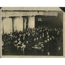 1926 Press Photo Shows Inside Parliament Building During Swearing in of New Gov