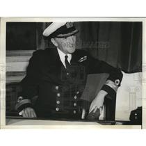 1942 Press Photo Commodore Sir Atwell Lake heads New Zealand Naval Staff
