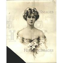 1924 Press Photo Emily Stevens - RRW28551