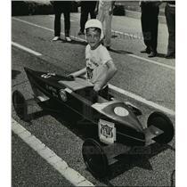 1972 Press Photo Jefferson County Soap Box Derby - Gary Slaten, Winner