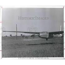 1977 Press Photo Glider approaches for a landing - hca23691
