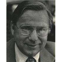 1978 Press Photo Joseph F. Sanek Airport Director of Milwaukee - mjc17264