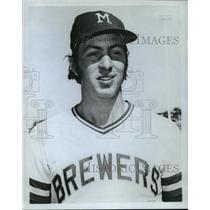 1972 Press Photo Milwaukee Brewers - Rick Auerbach, Baseball Player - mjt00429