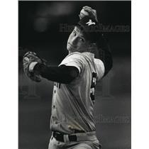 1992 Press Photo Waukesha South High School - Jason Greuel, Baseball Pitcher