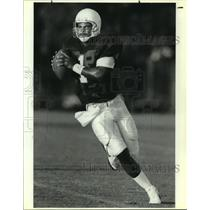 1991 Press Photo Houston Oilers quarterback Warren Moon - sas13229