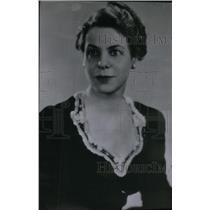 1941 Press Photo Katherine Glendinning President C.E.A. - RRX47051